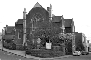 Hope Baptist Church, Bridgend photographed in the 1970s