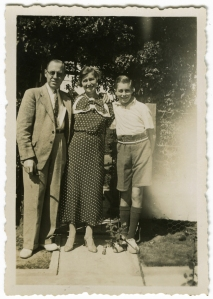 Wallie, Arnold & Con, about July 1936, South Africa.